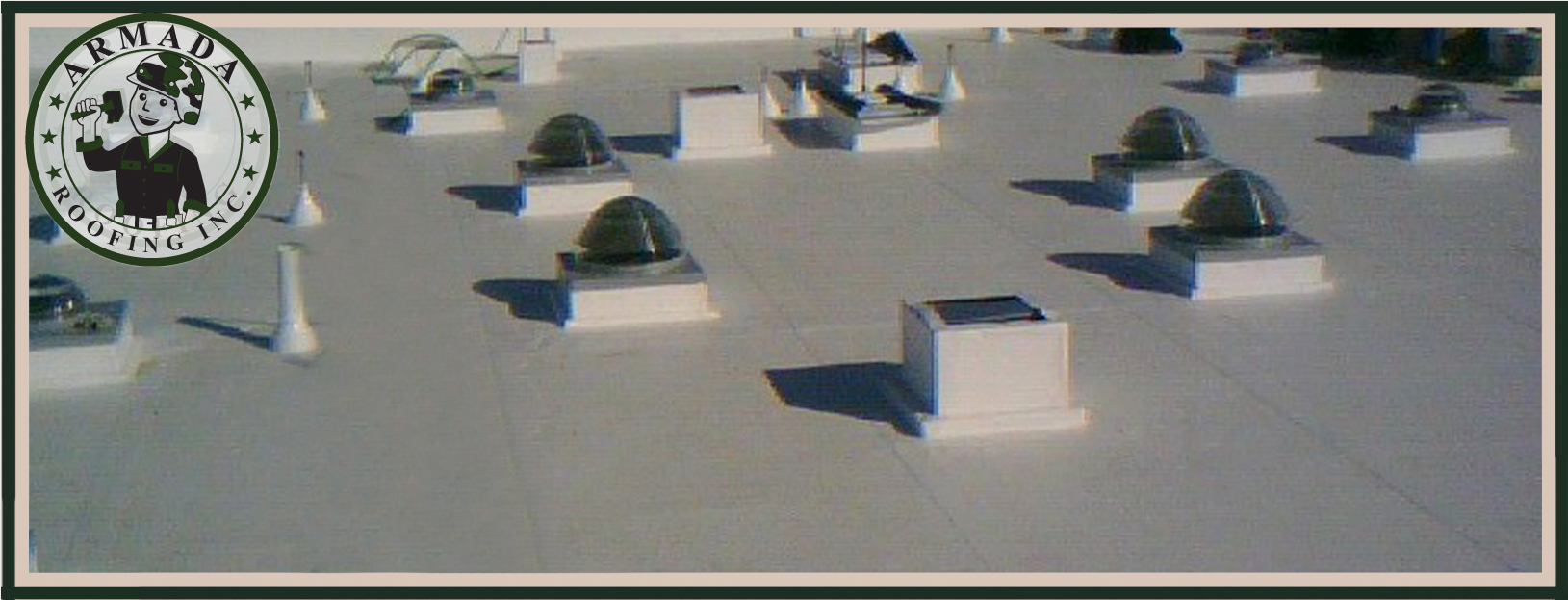 Single Ply Roofing for Flat Roofs in Riverside California commercial building and industrial